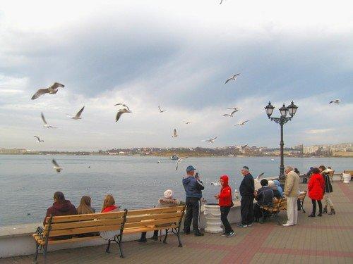 Набережная в декабре. Севастополь.