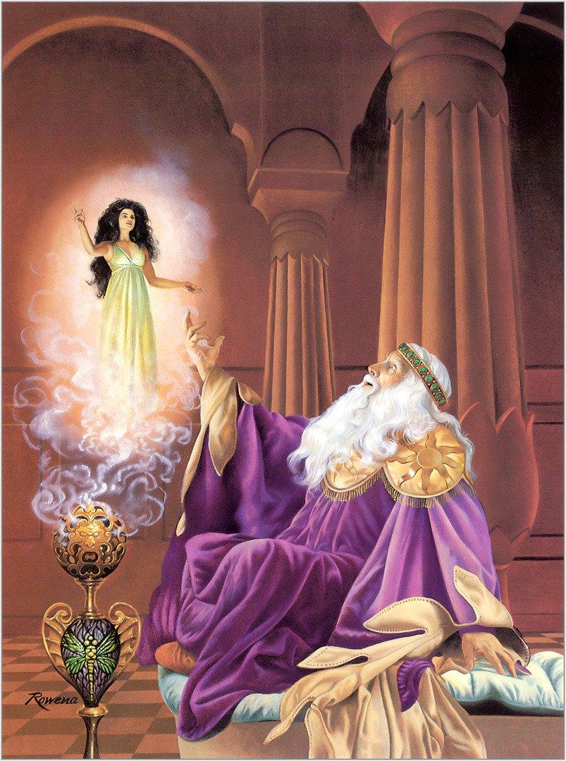 Rowena Morrill. The Last Incantation.
