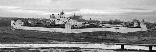 Суздаль. Покровский монастырь, 1972 год.