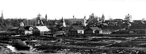 Суздаль. Покровский монастырь, 1986 год.