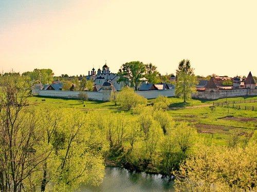 Суздаль. Покровский монастырь, 2000 год.