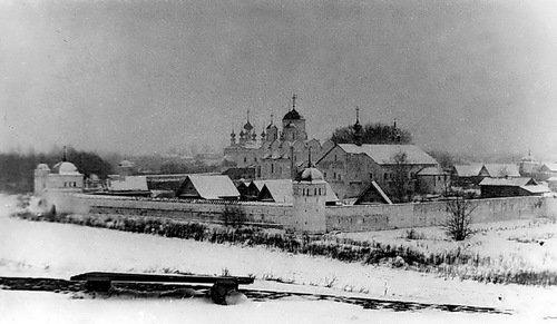 Суздаль. Покровский монастырь, 1968 год, ноябрь.
