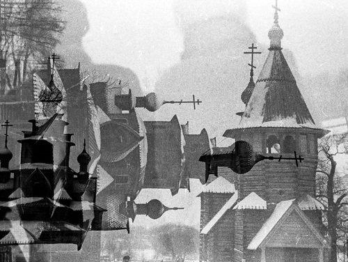 Два храма Суздаля в одном флаконе... да еще и с тенями друзей...