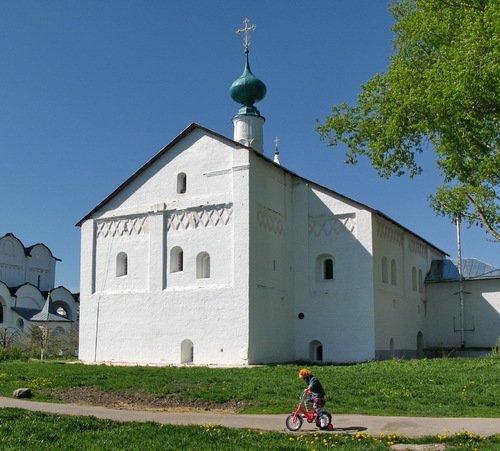 Церковь Анны праведной Зачатия в Покровском монастыре