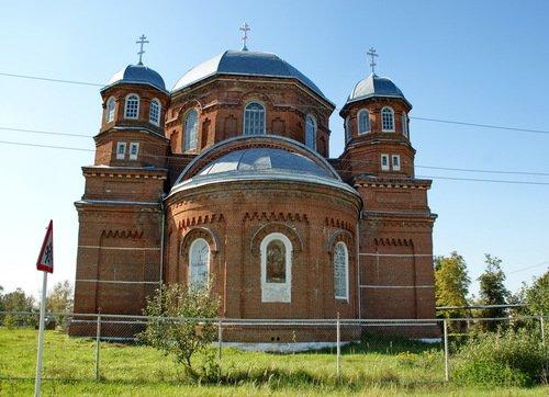 Церковь Воскресения Словущего в Серповом