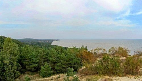 Вид с горы Эффа на п.Морское