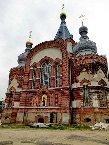 Церковь Сретения Иконы Божией Матери Владимирская в Гордеевке