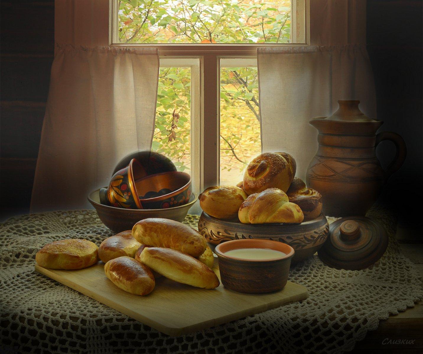 Смешные про, картинки с чаем и пирогами