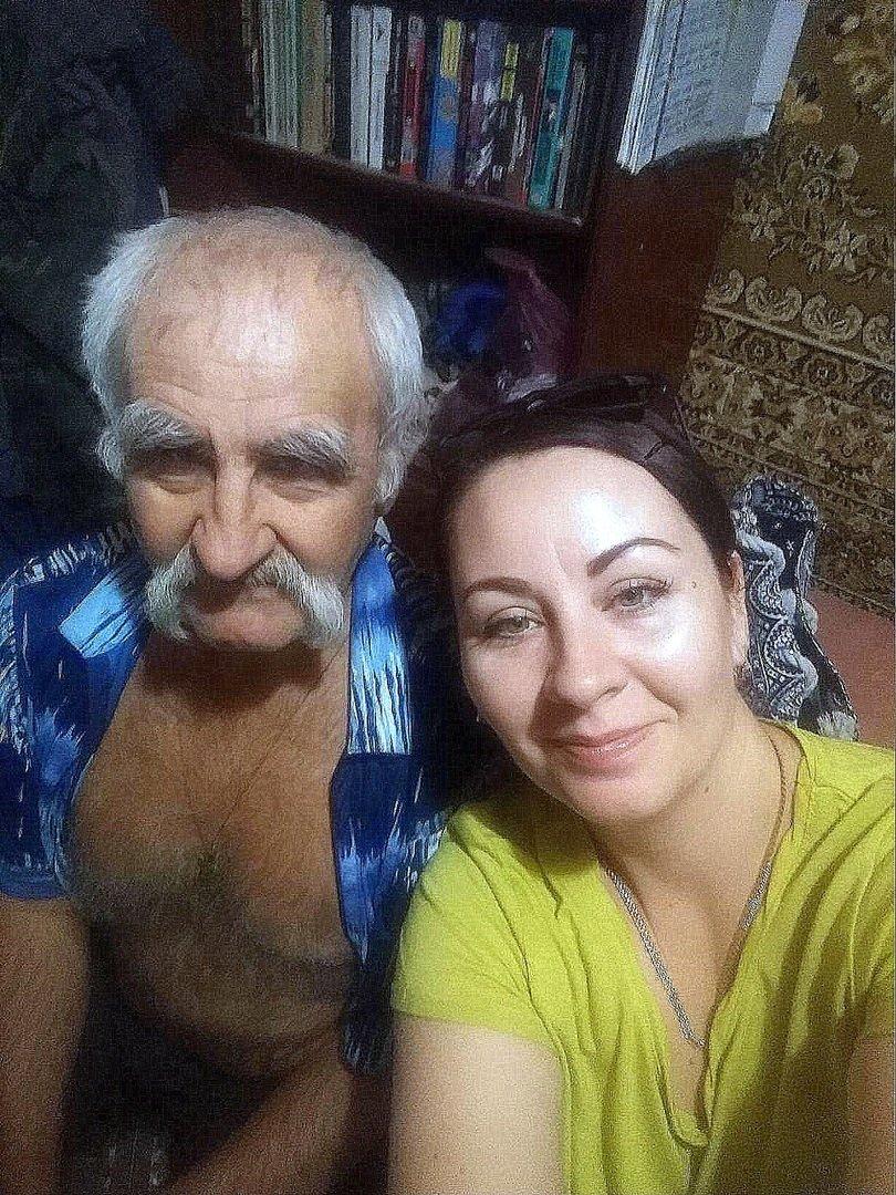 Фото о людях, фото из интернета . Встреча с отцом