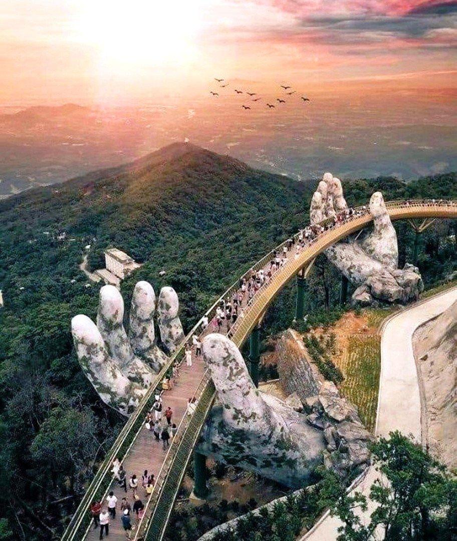 Во Вьетнаме ... мост!