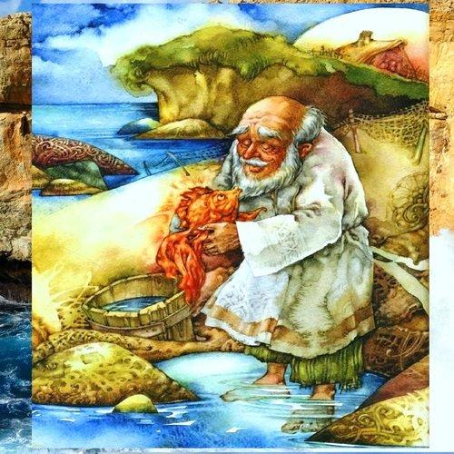 Золотая рыбка и Дед