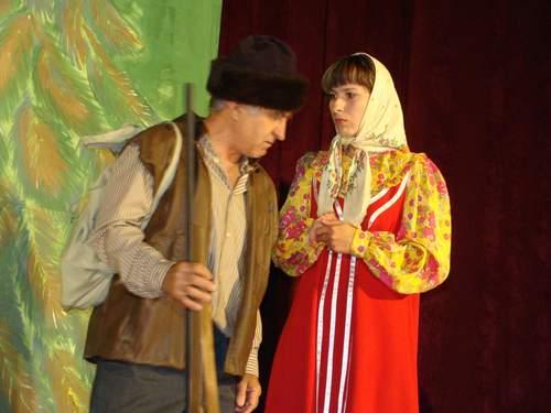 Охотник Кривуля и Красна-девица