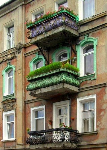 Балконы Инстербурга