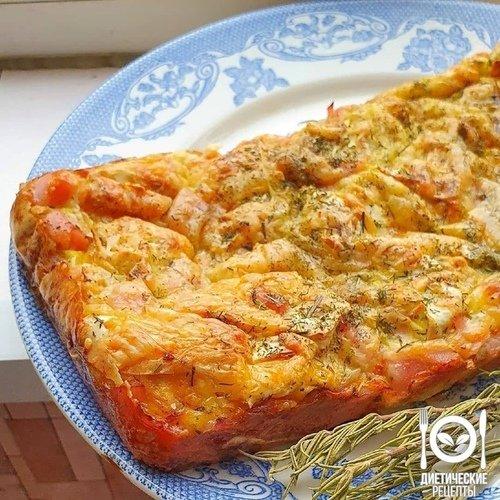 ЗАВТРАК. Рваный пирог из лаваша и сыра.