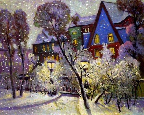 Зимний уголок Москвы...