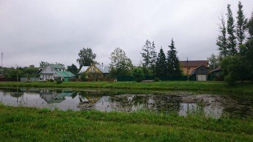 Поселок в отражении
