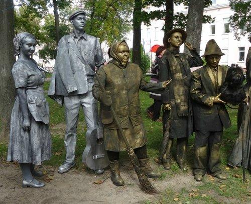 Скульптуры, Гомель