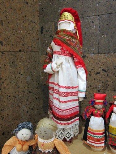 Элина Карпика. Спиридоновна. Кукла в костюме Тульской губернии.