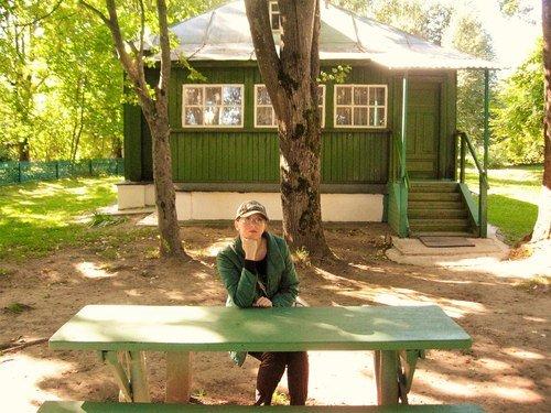 В Даровом-усадьбе Достоевского.