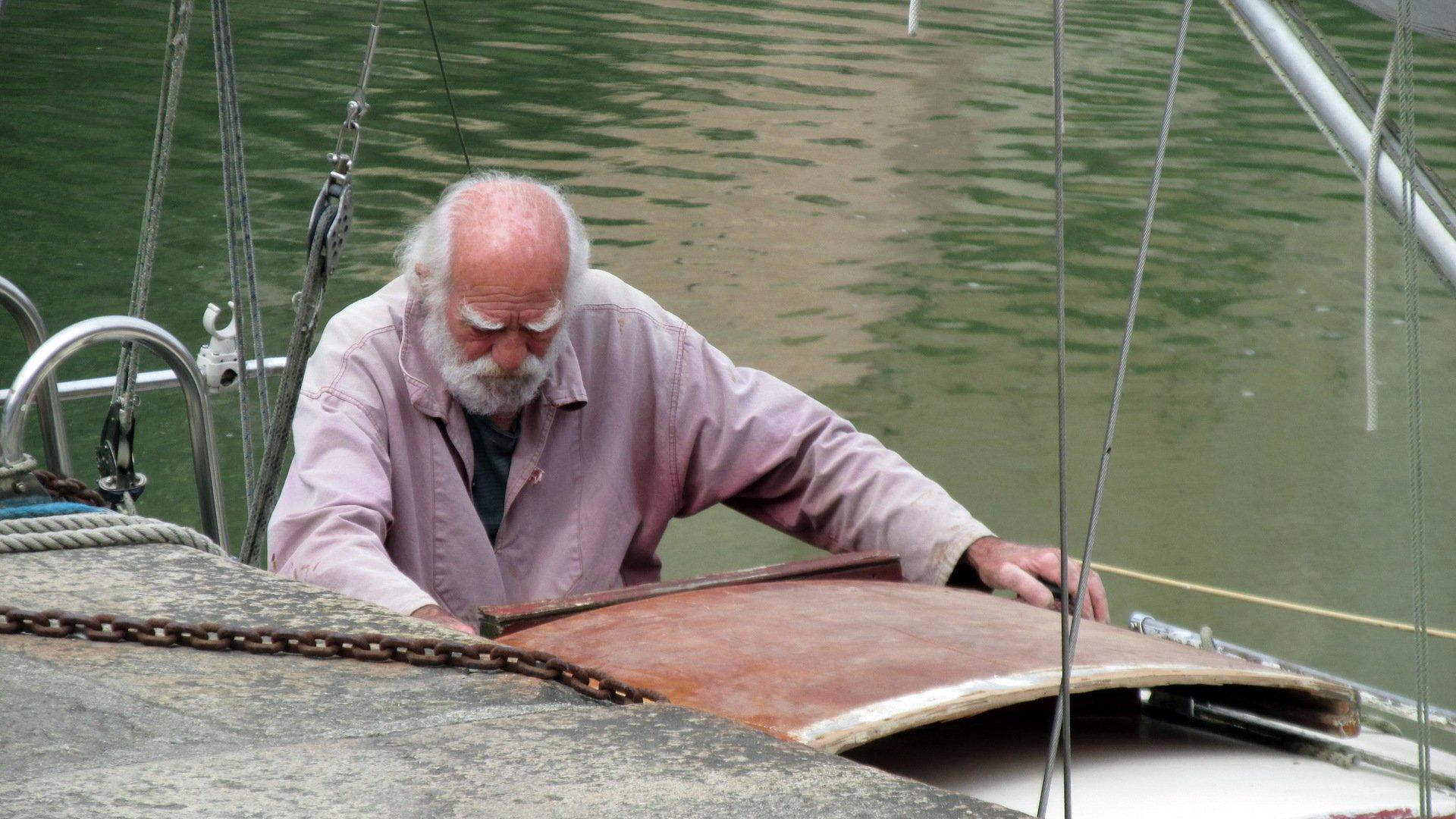 Мультфильм старик и море фото