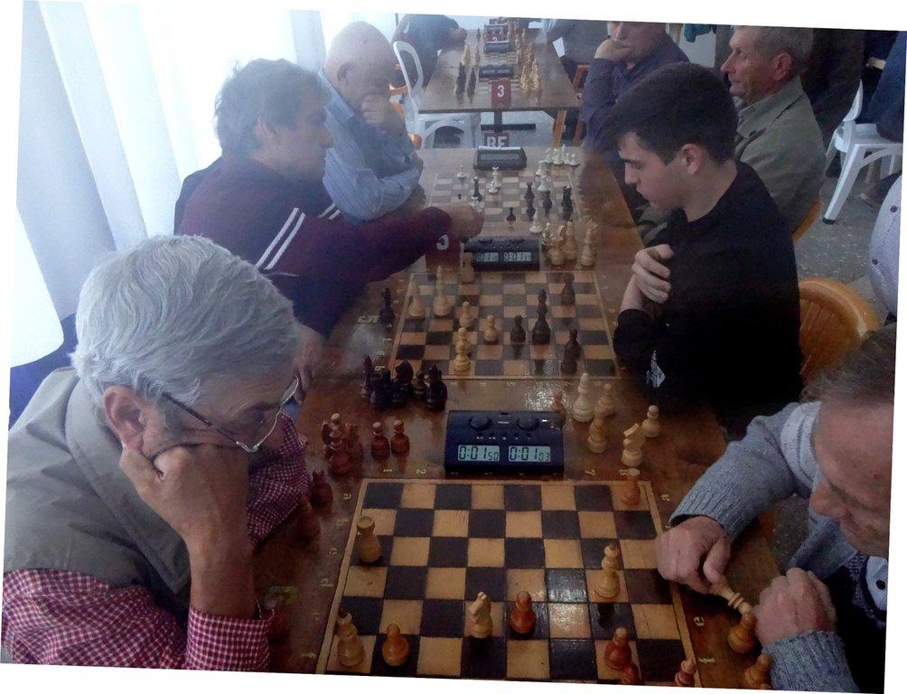 Шахматный турнир, станица Выселки, Кубань, 20.10.19. 002