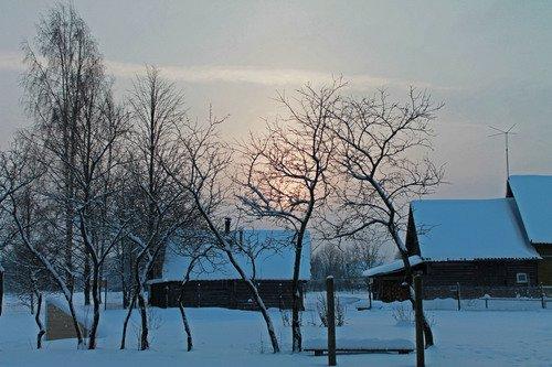 день в деревне