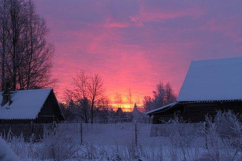 огненный день в Ленинградской области