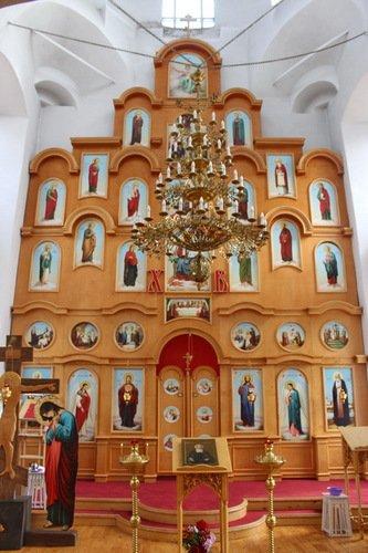 Иконостас церкви Сошествия Святого Духа
