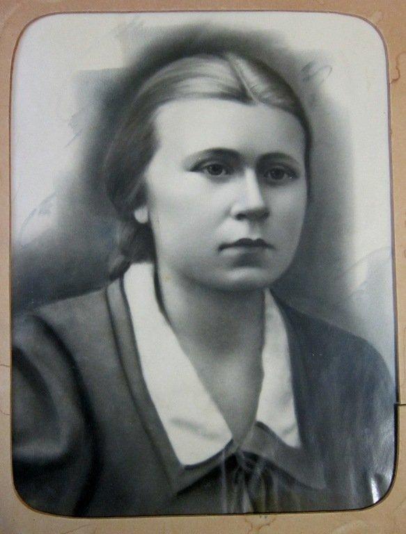 Александра Андреевна. 1950-е годы.