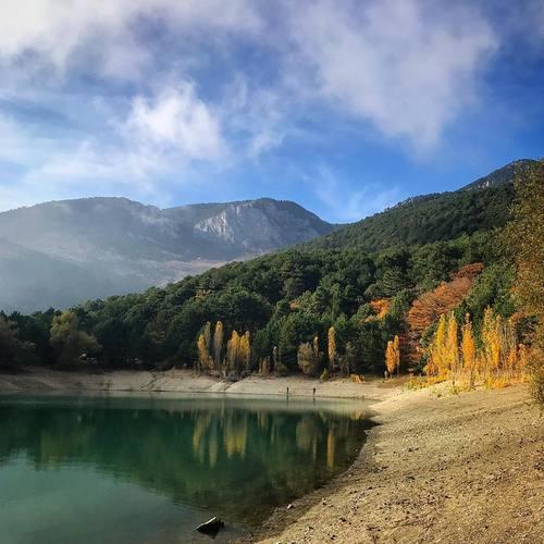 Горное озеро над Партенитом