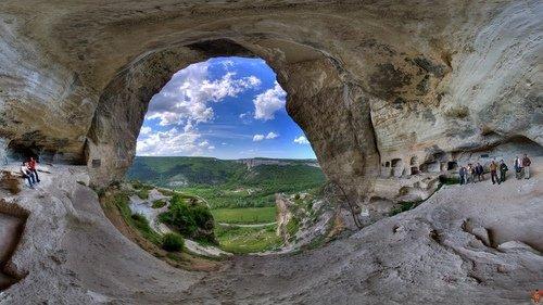 Пещерные гроты Качи-Кальона.