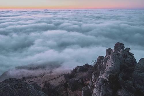 Облака над Демерджи