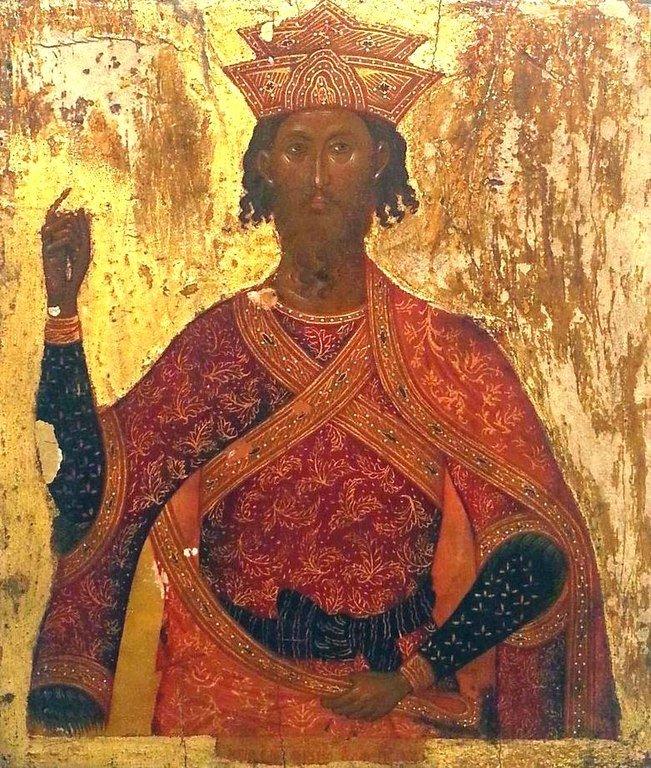 Святой Великомученик Иаков Персянин. Икона. Музей Сербской Православной Церкви, Белград.