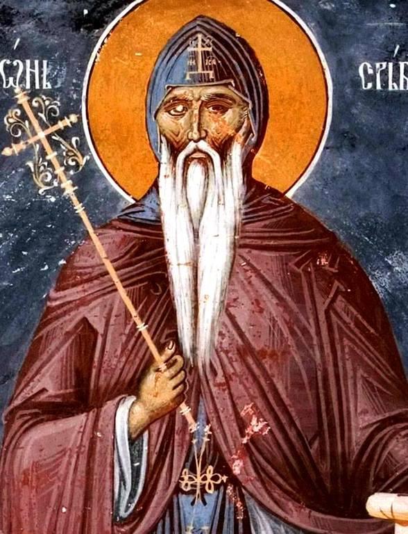 Святой Преподобный Симеон Мироточивый.
