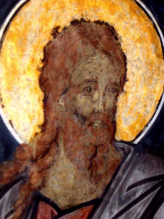 Навуфей. Фреска церкви Святого Георгия в Сучаве, Румыния. 1534 год.