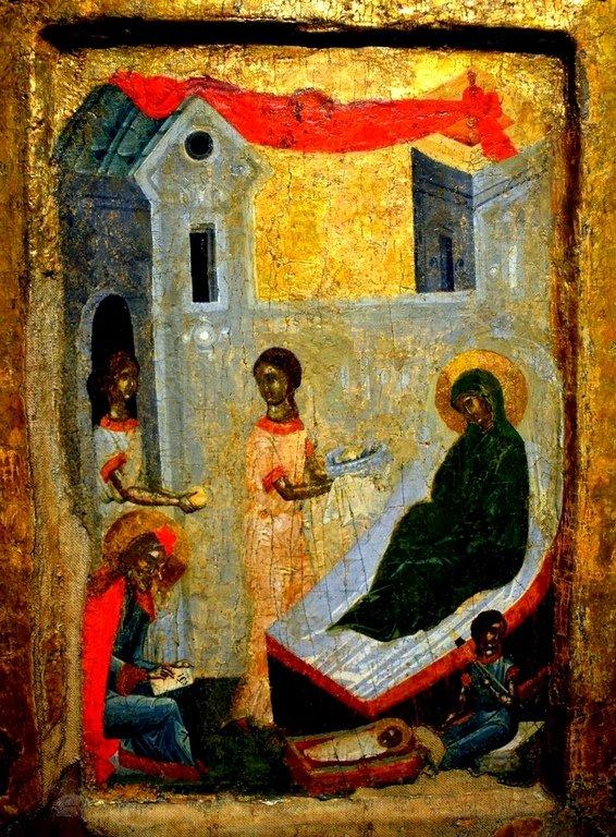 Рождество Святого Иоанна Предтечи. Болгарская икона.