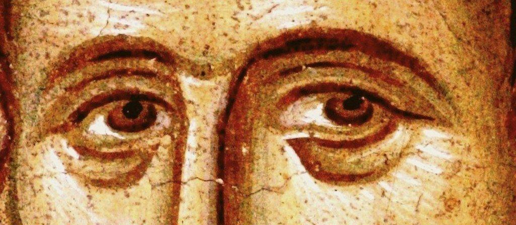 Святой Великомученик Прокопий. Фреска монастыря Высокие Дечаны, Косово, Сербия. Около 1350 года.