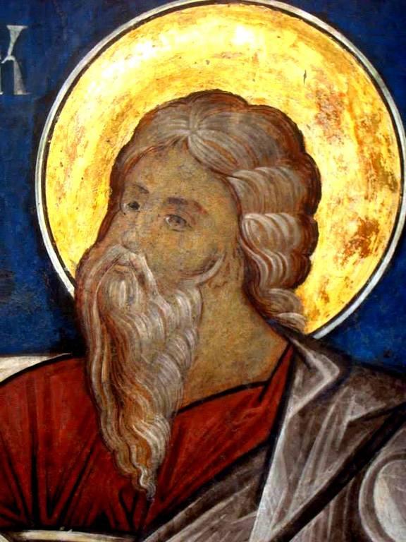 Святой Пророк Самуил. Фреска церкви Святого Георгия в Сучаве, Румыния. 1534 год.