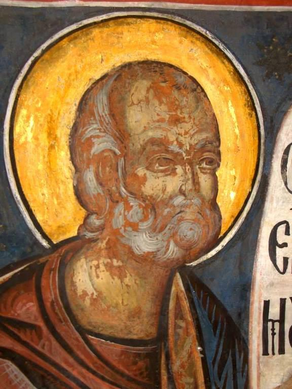 Святой Пророк Иона. Фреска церкви Святого Георгия в Сучаве, Румыния. 1534 год.