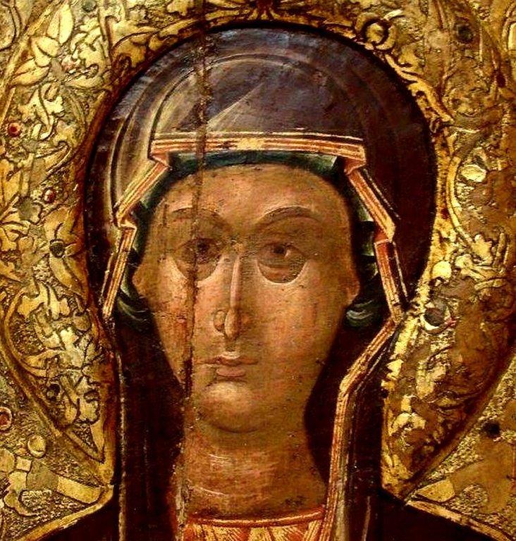 Святая Преподобная Параскева (Петка) Сербская. Балканская икона. Лик.