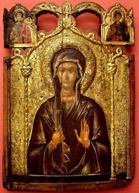 Святая Преподобная Параскева (Петка) Сербская. Балканская икона.