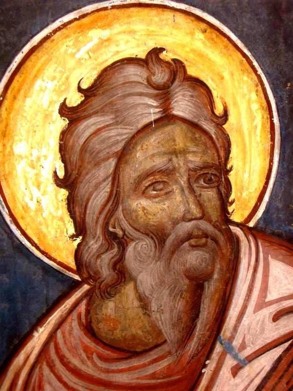 Святой Пророк Авдий. Фреска церкви Святого Георгия в Сучаве, Румыния. 1534 год.