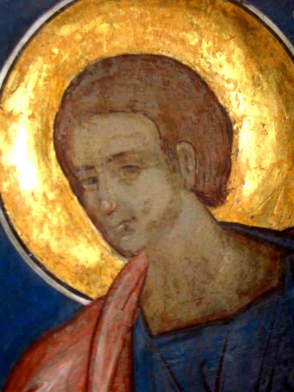 Святой Пророк Аввакум. Фреска церкви Святого Георгия в Сучаве, Румыния. 1534 год.