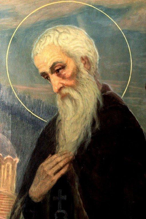 Святой Преподобный Иоанн Рыльский. Болгарская икона.