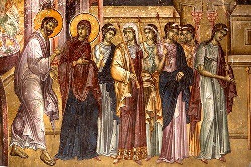 4 ДЕКАБРЯ - ДВУНАДЕСЯТЫЙ ПРАЗДНИК ВВЕДЕНИЯ ВО ХРАМ ПРЕСВЯТОЙ БОГОРОДИЦЫ.