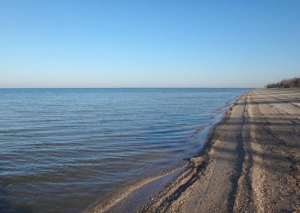 Азовский берег, поход с велосипедом, Кубань, 8 ноября, год 2018 ... 013
