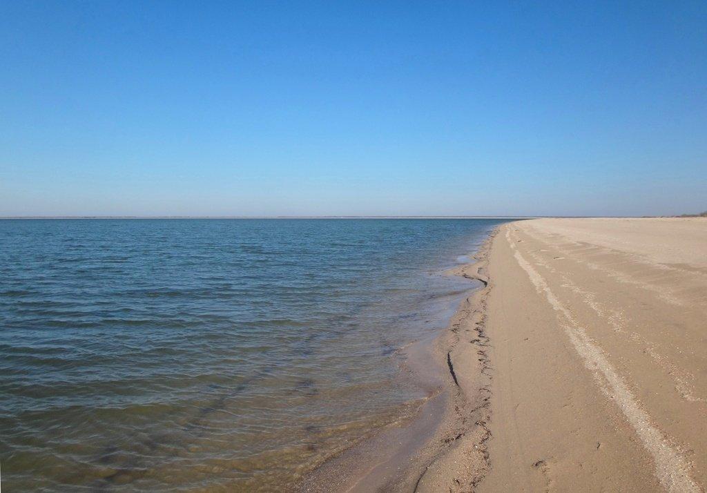 На Природе, Азовское побережье, поход велосипедный, 8 ноября 2018, Краснодарский край... 015