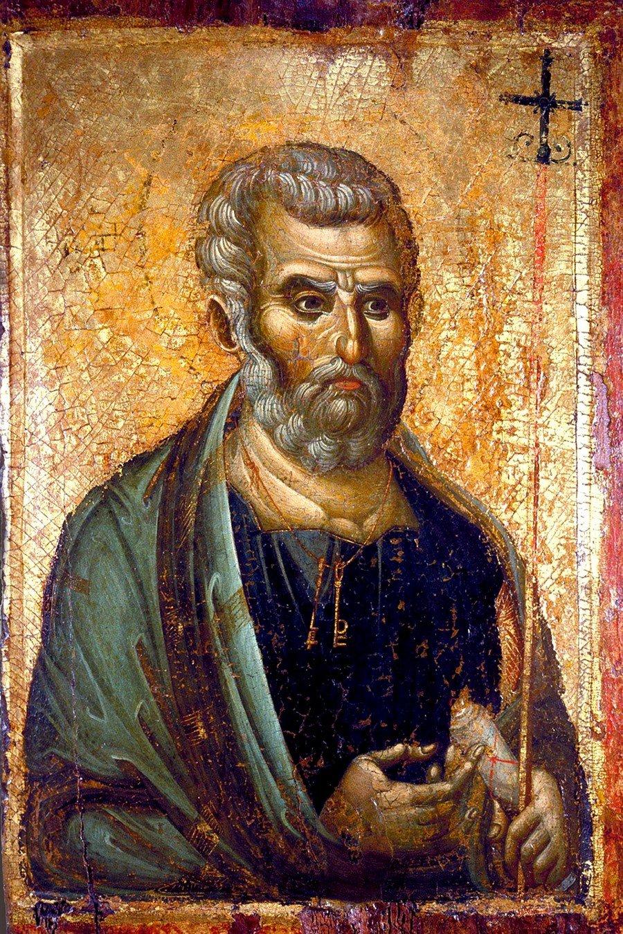 Святой Апостол Пётр. Византийская икона конца XIII века.