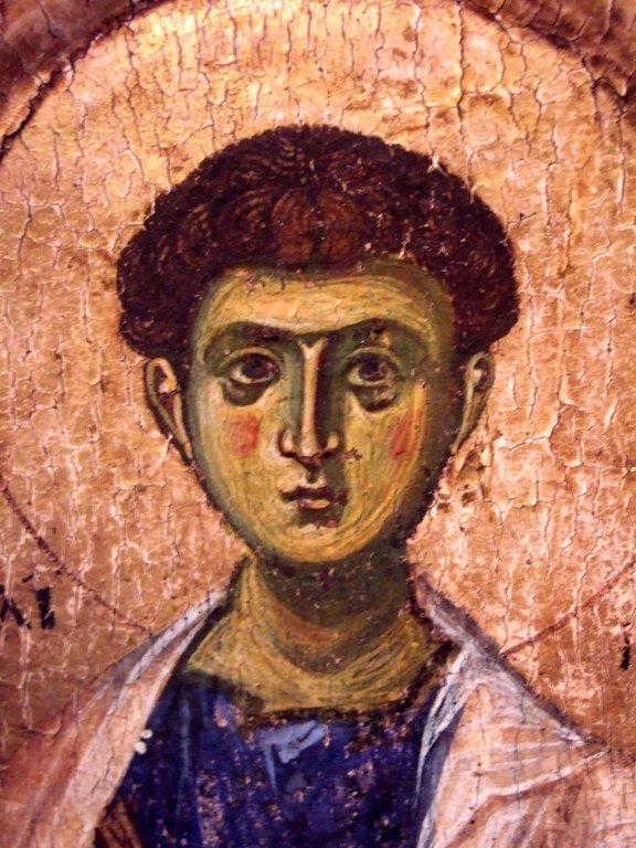 Святой Апостол Филипп. Фрагмент византийской иконы начала XII века. ГЭ.