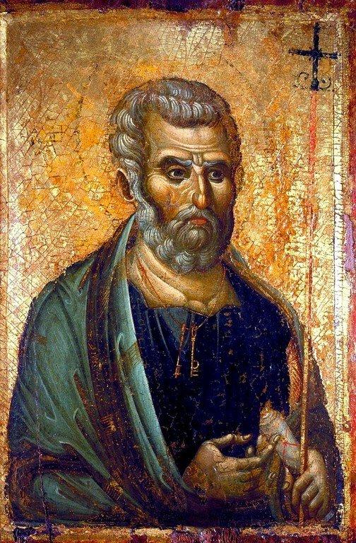 Святой Апостол Пётр. Икона. Византия, вторая половина XIII века.